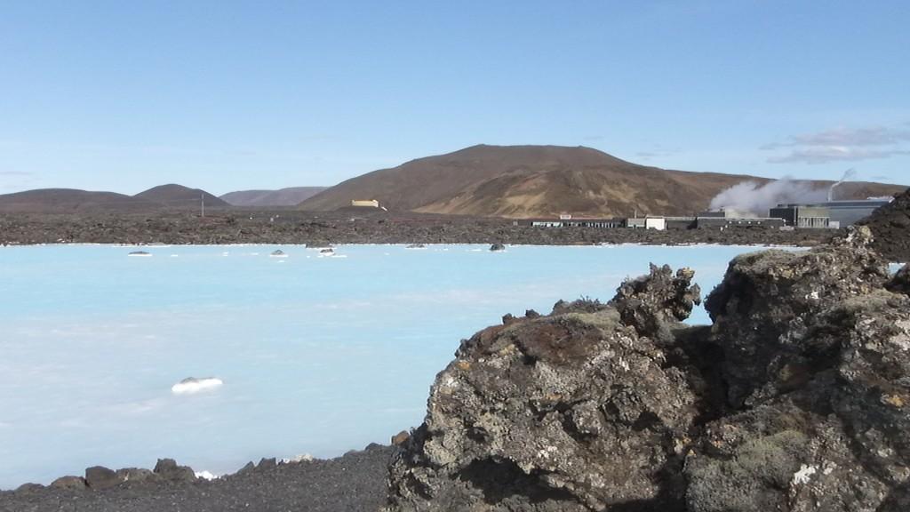 Près du Blue Lagoon